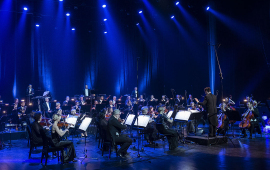 Toruńska Orkiestra Symfoniczna gra koncert noworoczny w CKK Jordanki