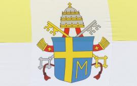 Na zdjęciu: hebr papieski