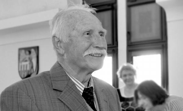 Aleksander Rojewski w kwietniu 2019 roku, fot. Małgorzata Litwin