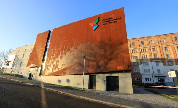 Na zdjęciu budynek Centrum Innowacyjnej Edukacji