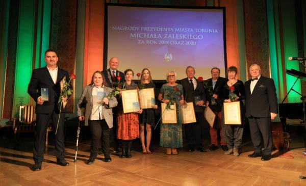 Laureaci Nagrody Prezydenta Torunia 2019