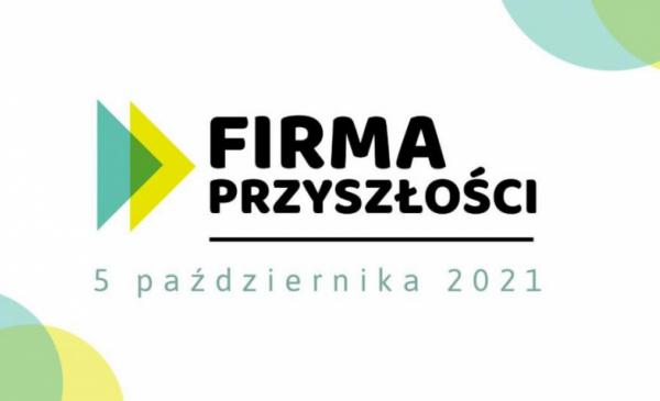 Baner informujący o konferencji Firma Przyszłości