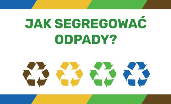 baner ze strony tytułowej poradnika segregacji odpadów