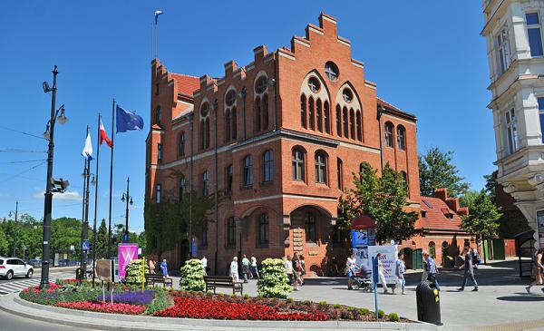 Na zdjęciu: budynek Urzędu Miasta Torunia, ul. Wały gen. Sikorskiego 8
