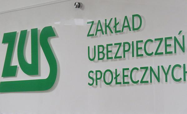 Zdjęcie logo ZUS