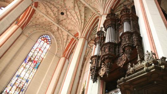 organy w kościele Wniebowzięcia NMP, fot. Magdalena Kujawa