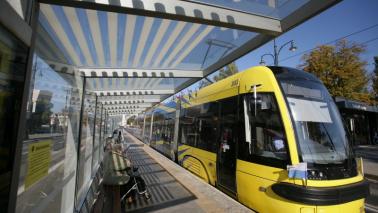 Na zdjęciu tramwaj miejski typu Swing