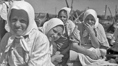 Jarmark w dniu św. Piotra i Pawła, lata 30. XX w., Wilno, fot. B i E. Zdanowscy, archiwum MET