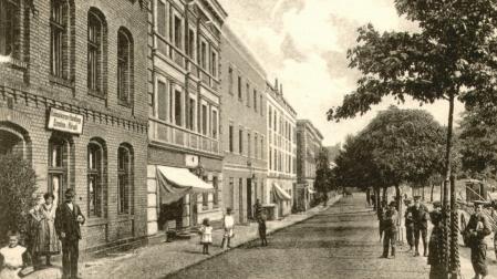 historyczne zdjęcie Podgórza
