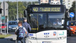Na zdjęciu autobus linii nr 40
