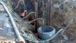 budowa instalacji wodno-kanalizacyjnej