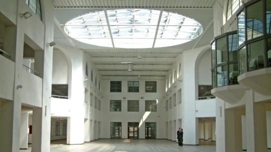 Na zdjęciu wnętrze Toruńskiego Centrum Targowego