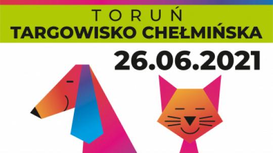Plakat wydarzenia z psem i kotem