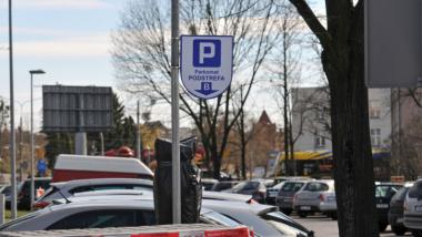 Na zdjęciu: parkometr na starówce