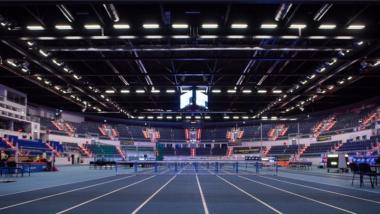Na zdjęciu widać wnętrze hali Arena Toruń