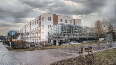 Na zdjęciu: budynek Zakładu Pielęgnacyjno-Opiekuńczego